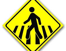 Pedestres são as maiores vítimas de trânsito