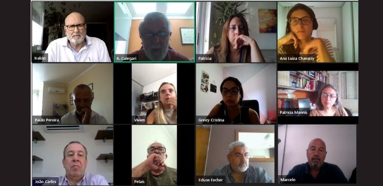 CâmaraSIN realiza reunião estratégica com mediadores e conciliadores