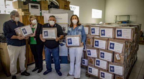 Fundo Social de Solidariedade recebe cestas básicas do Sincor-SP e do Sindseg SP